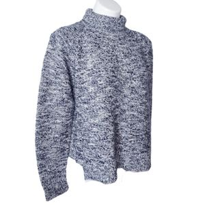 Madewell heavy sweater with turtle neck